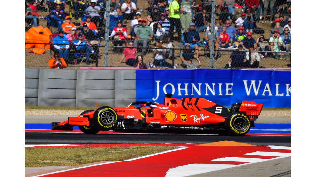 Sebastian Vettel - GP USA 2019