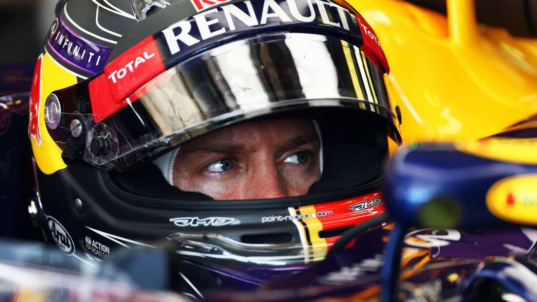 Sebastian Vettel GP Ungarn 2014 Red Bull