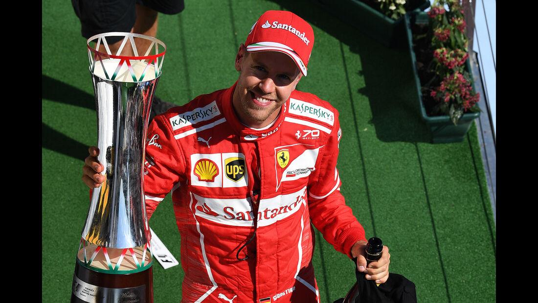 Sebastian Vettel - GP Ungarn 2017