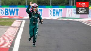 Sebastian Vettel - GP Ungarn 2021