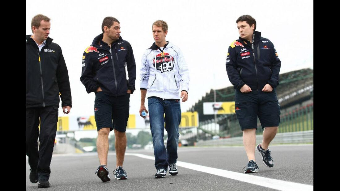 Sebastian Vettel - GP Ungarn - Formel 1 - 28.7.2011