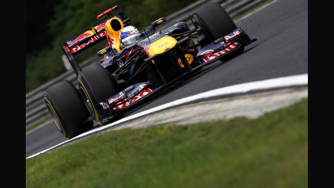 Sebastian Vettel GP Ungarn - Formel 1 - 29.7.2011