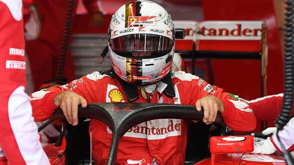 Sebastian Vettel - Halo - Formel 1 - 2016