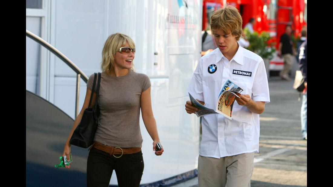 Sebastian Vettel & Hanna Prater