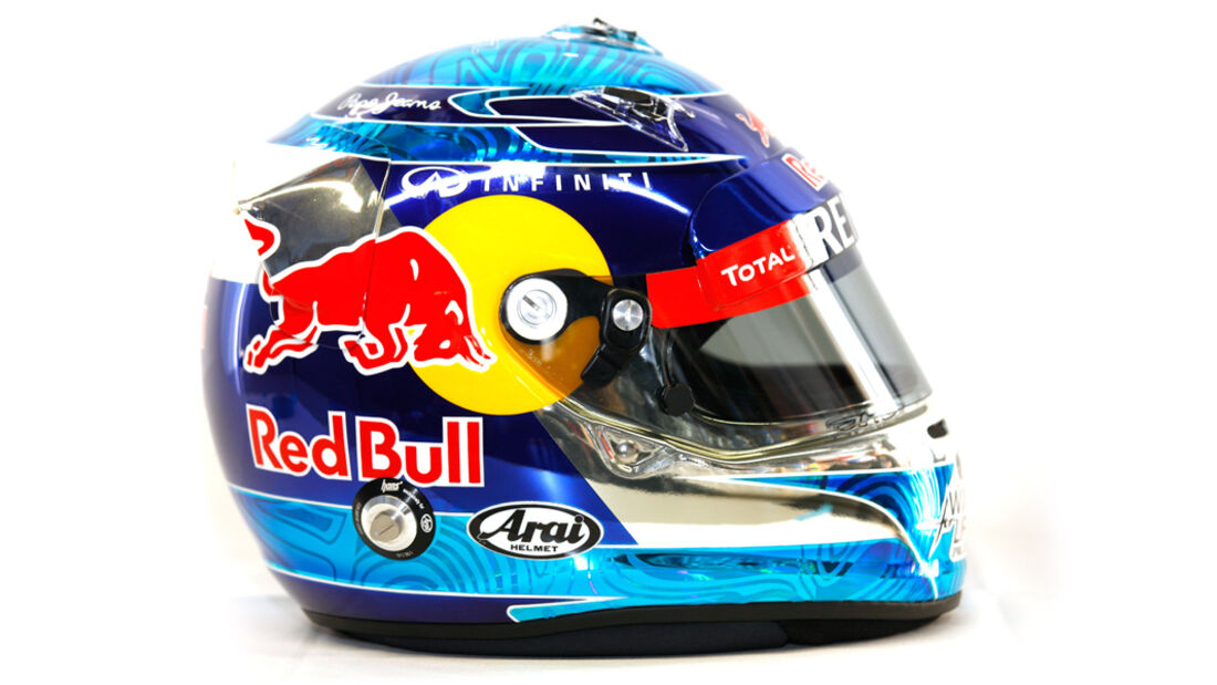 Sebastian Vettel Helm 2012