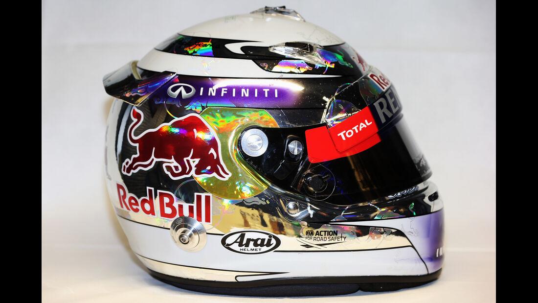 Sebastian Vettel Helm 2013