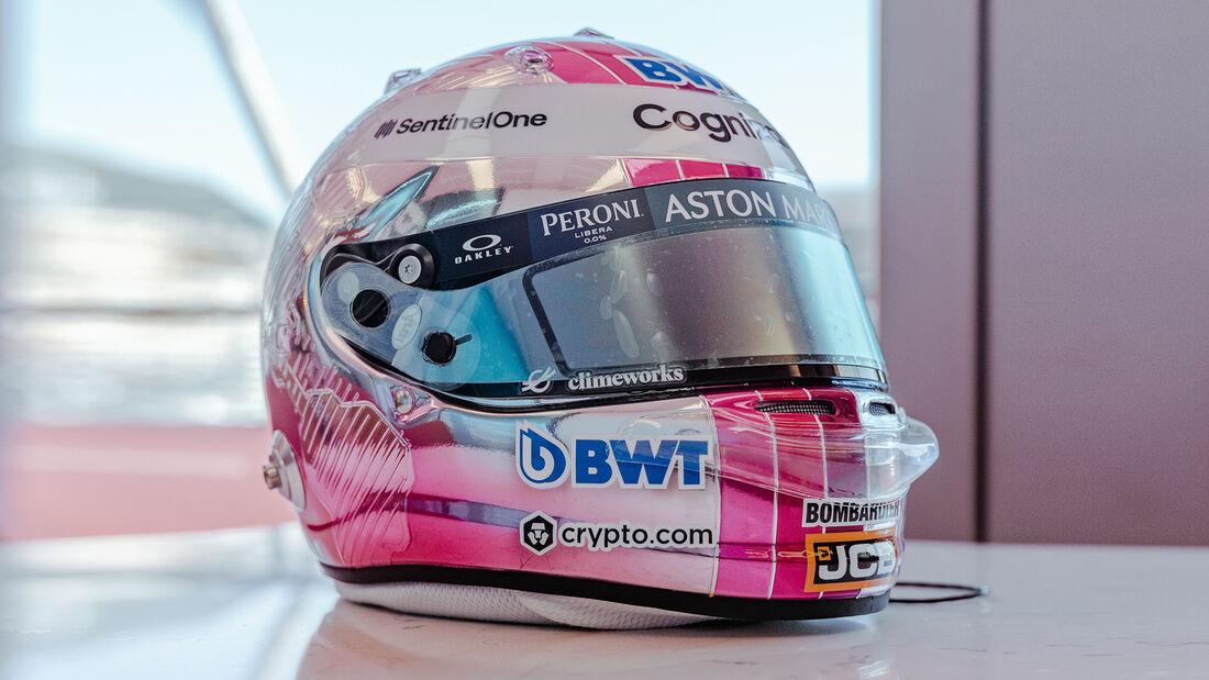 Sebastian Vettel - Helm-Design - GP Monaco 2021