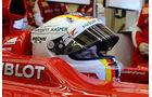 Sebastian Vettel - Helm Ferrari - 2015