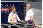 Sebastian Vettel & Helmut Marko - Red Bull - Formel 1 - Test - Bahrain - 19. Februar 2014