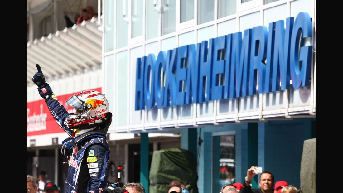 Sebastian Vettel Hockenheim 2010 GP Deutschland