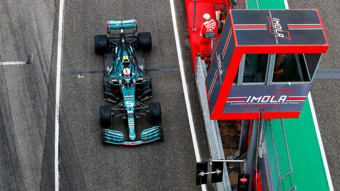 Sebastian Vettel - Imola - Formel 1 - GP Emilia Romagna - 2021