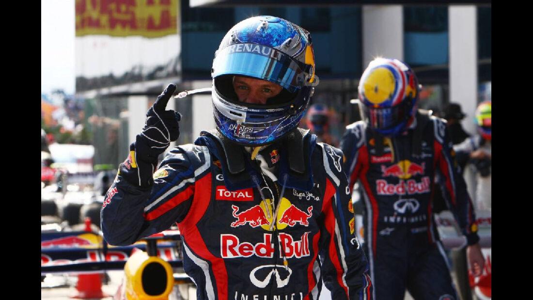 Sebastian Vettel Impressionen GP Türkei 2011