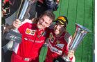 Sebastian Vettel & James Allison - GP Ungarn 2015