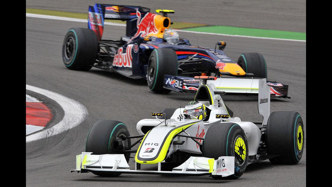 Sebastian Vettel & Jenson Button