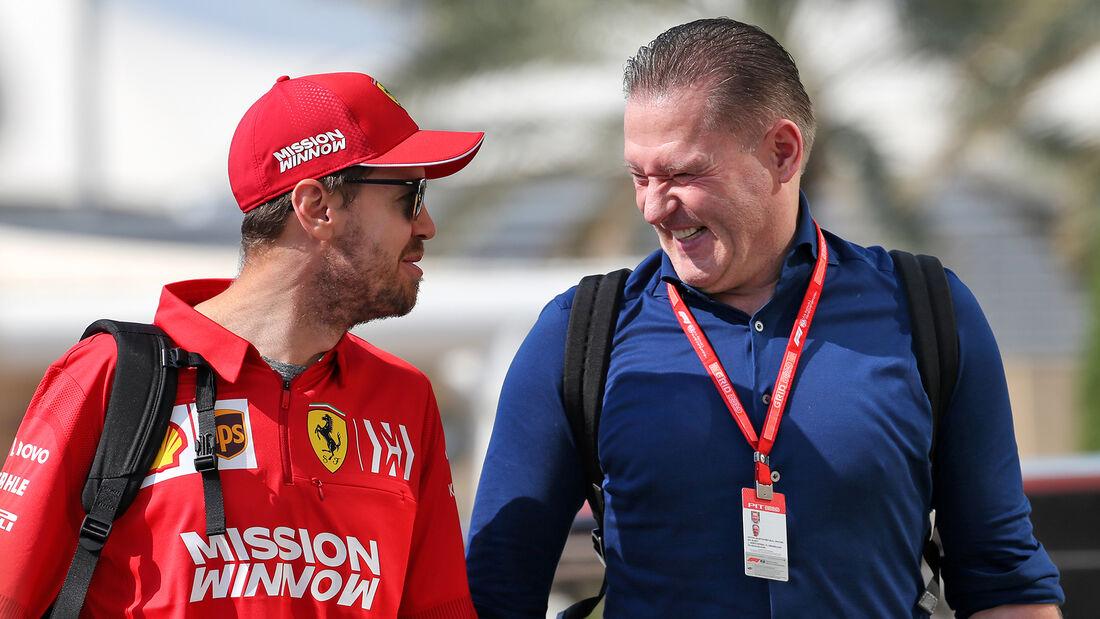 Sebastian Vettel - Jos Verstappen - GP Abu Dhabi - Formel 1 - Freitag - 29.11.2019