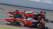 Sebastian Vettel - Kimi Räikkönen - Ferrari F60 - Finali Mondiali - Daytona