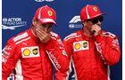 Sebastian Vettel - Kimi Räikkönen - Ferrari - Formel 1 - GP Italien - 01. September 2018