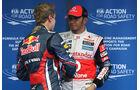 Sebastian Vettel  Lewis Hamilton - Formel 1 - GP Korea - 15. Oktober 2011