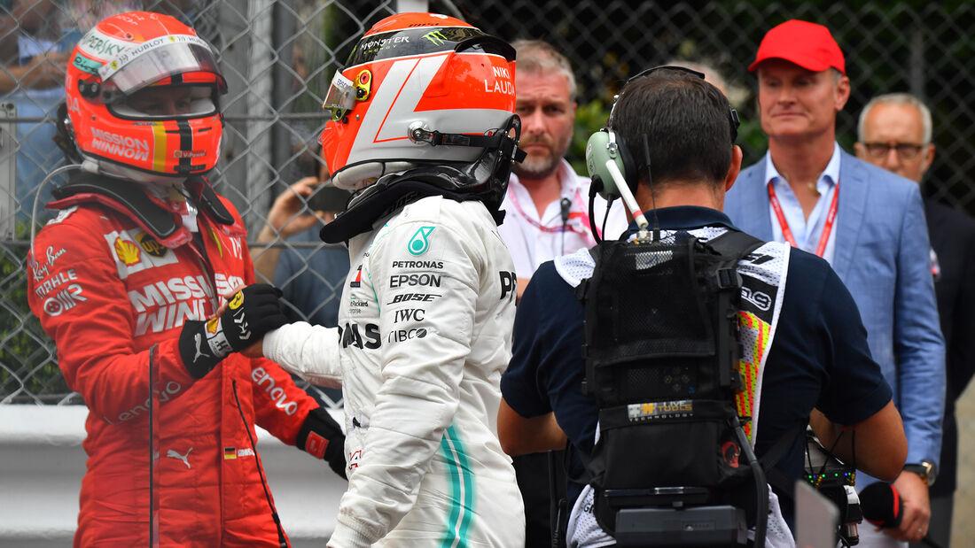 Sebastian Vettel - Lewis Hamilton - GP Monaco 2019
