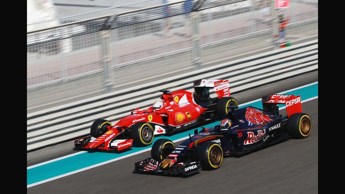 Sebastian Vettel & Max Verstappen - Formel 1 - GP Abu Dhabi - 27. November 2015