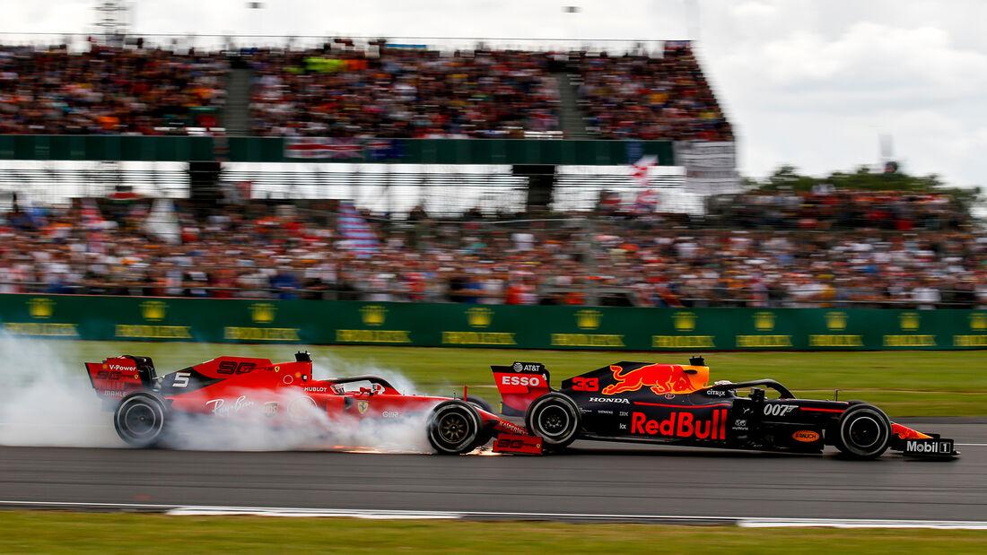 Sebastian Vettel - Max Verstappen - GP England 2019