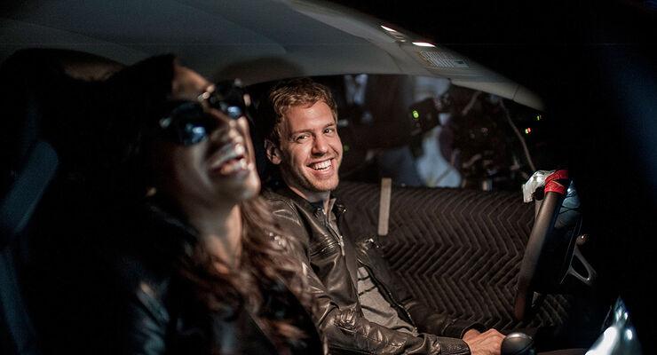 Sebastian Vettel, Melanie Fiona
