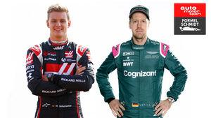 Sebastian Vettel & Mick Schumacher - F1 2021