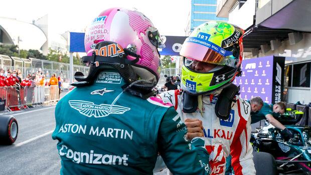 Sebastian Vettel - Mick Schumacher - Formel 1 - 2021