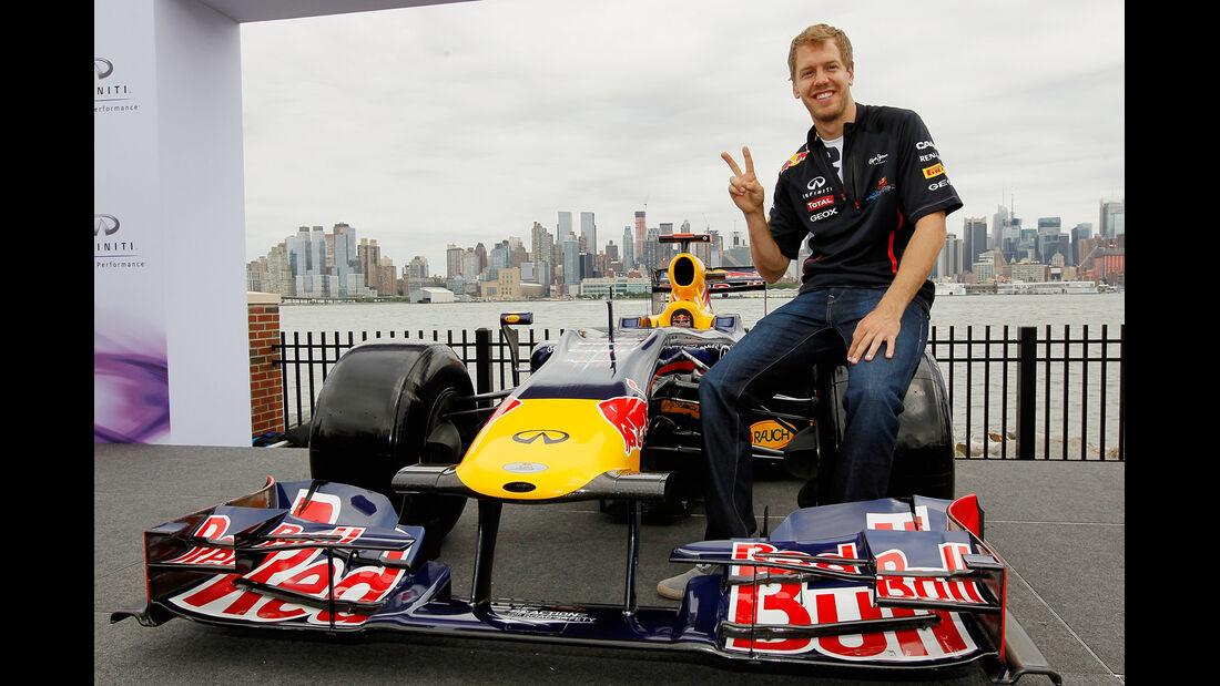 Sebastian Vettel New Jersey Infiniti 2012