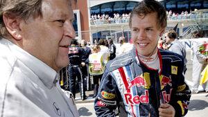 Sebastian Vettel & Norbert Haug