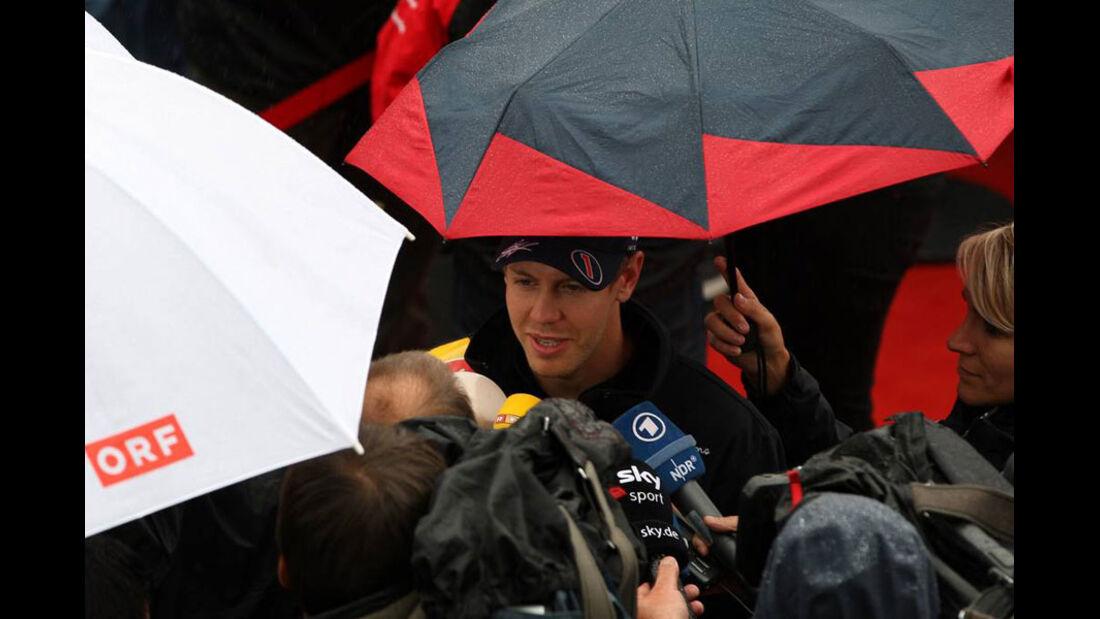 Sebastian Vettel - Nürburgring - GP Deutschland - 21. Juli 2011