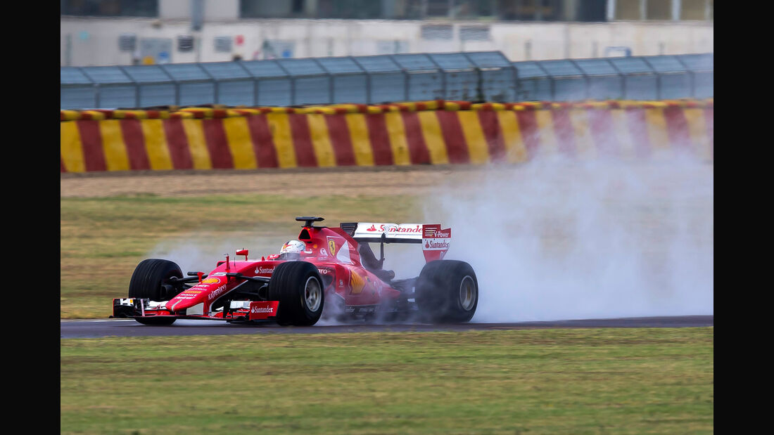 Sebastian Vettel - Pirelli 2017 Reifen-Test - Fiorano - 1. August 2016