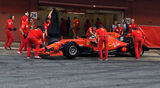Sebastian Vettel - Pirelli Reifentest - Barcelona - 2019