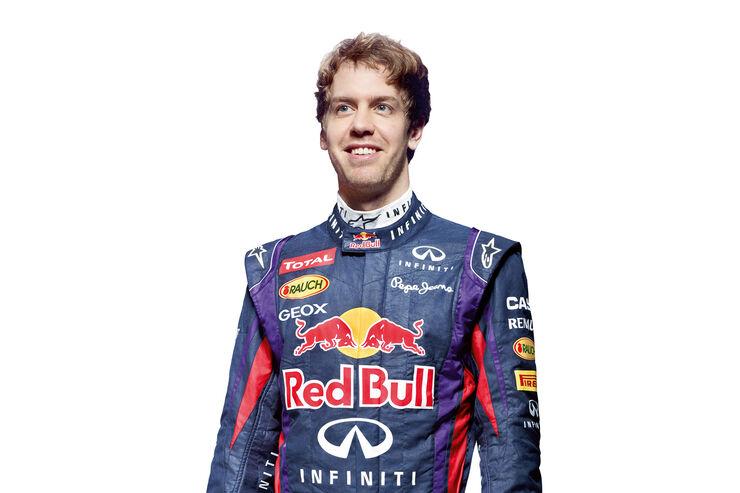 Sebastian Vettel Porträt 2013