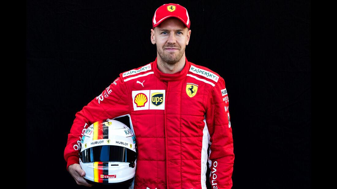 Sebastian Vettel - Porträt - Formel 1 - 2018