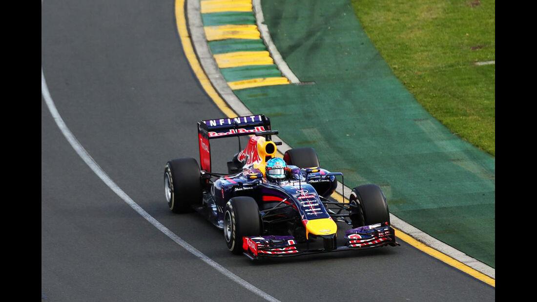 Sebastian Vettel - Rd Bull - - Formel 1 - GP Australien - 16. März 2014