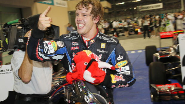 Sebastian Vettel - Red Bull - Abu Dhabi 2010