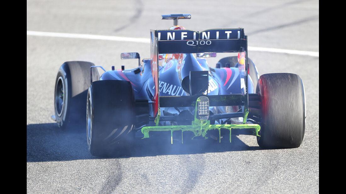 Sebastian Vettel Red Bull F1 Test Jerez 2013 Highlights