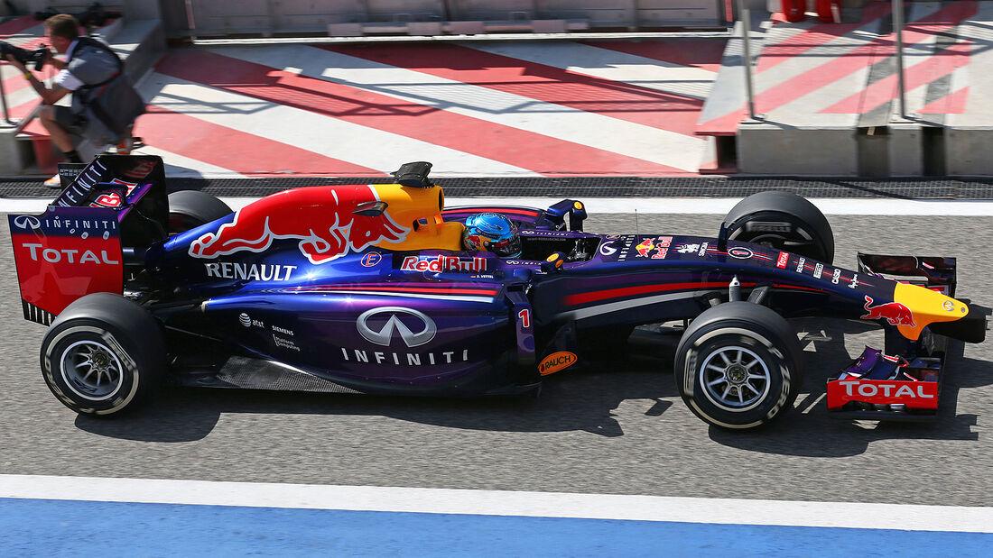 Sebastian Vettel - Red Bull - Formel 1 - Bahrain - Test - 29. Februar 2014