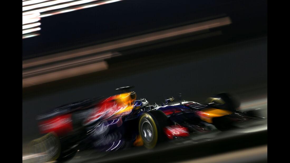 Sebastian Vettel - Red Bull - Formel 1 - GP Abu Dhabi - 21. November 2014