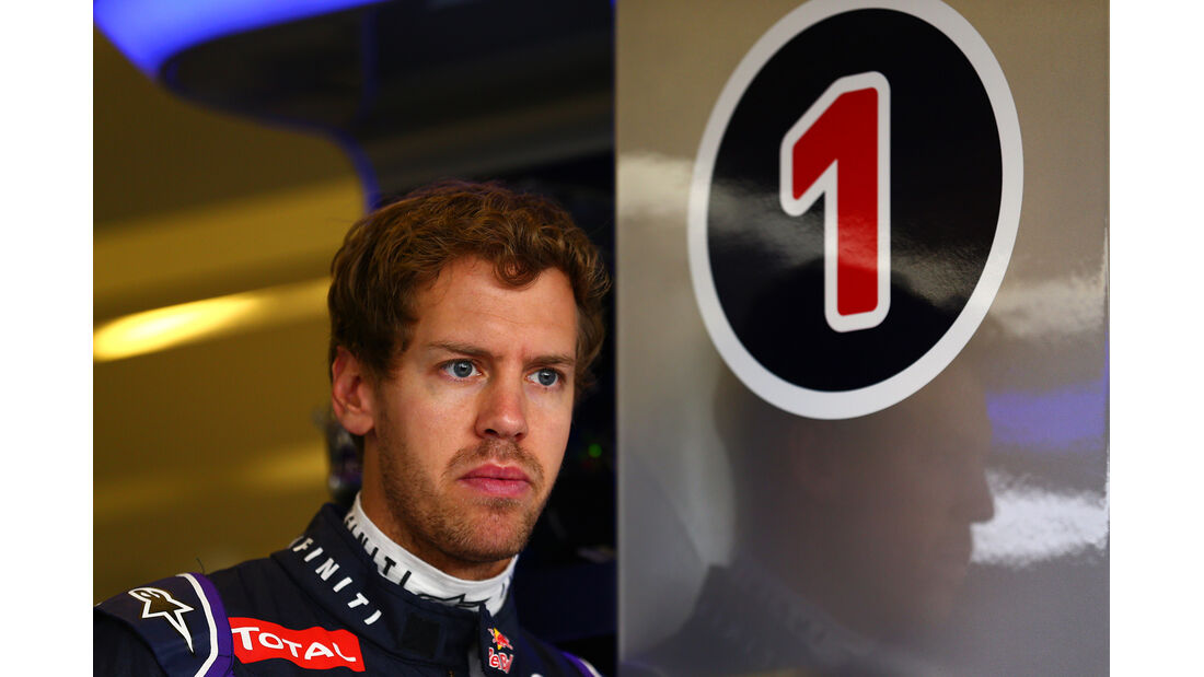 Sebastian Vettel - Red Bull - Formel 1 - GP Abu Dhabi - 22. November 2014