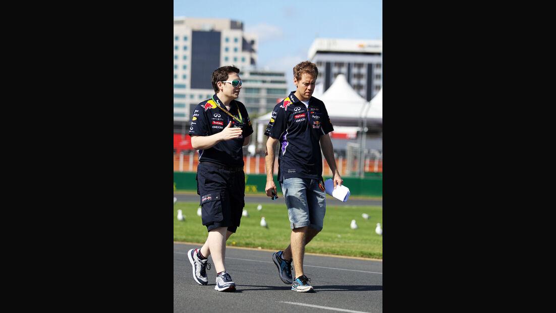 Sebastian Vettel - Red Bull - Formel 1 - GP Australien - 12. März 2014