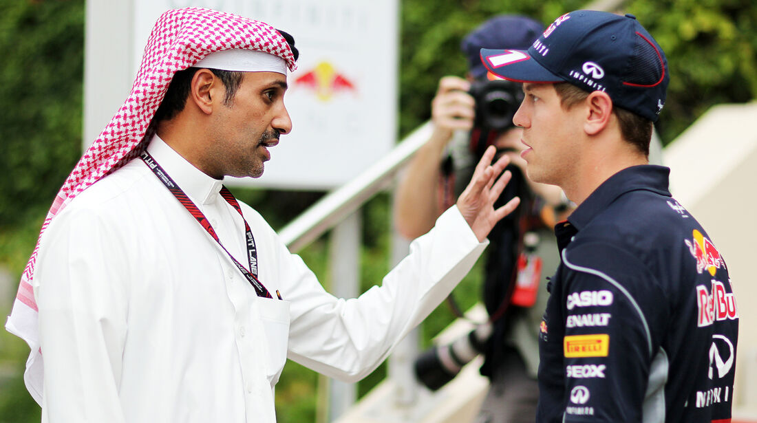 Sebastian Vettel - Red Bull - Formel 1 - GP Bahrain - 18. April 2013
