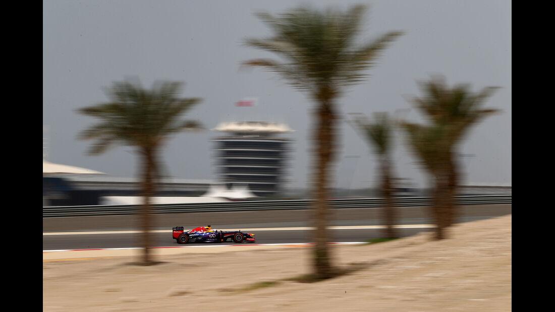 Sebastian Vettel - Red Bull - Formel 1 - GP Bahrain - 19. April 2013