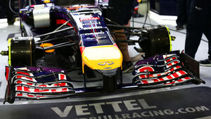 Sebastian Vettel - Red Bull - Formel 1 - GP Bahrain - Sakhir - 4. April 2014