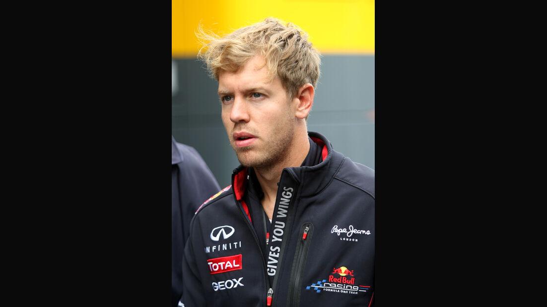 Sebastian Vettel - Red Bull - Formel 1 - GP Belgien - Spa - 30.8.2012