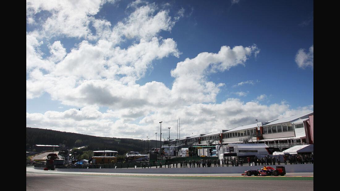 Sebastian Vettel - Red Bull - Formel 1 - GP Belgien - Spa-Francorchamps - 1. September 2012