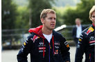 Sebastian Vettel - Red Bull - Formel 1 - GP Belgien - Spa-Francorchamps - 21. August 2014