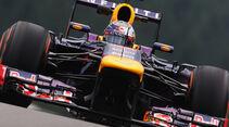 Sebastian Vettel - Red Bull - Formel 1 - GP Belgien - Spa Francorchamps - 23. August 2013