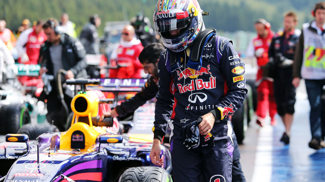 Sebastian Vettel - Red Bull - Formel 1 - GP Belgien - Spa-Francorchamps - 23. November 2014